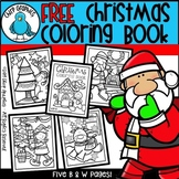 FREE Christmas Coloring Book - Chirp Graphics