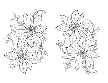 FREE - Christmas Coloring Pages (K-6)