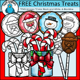 FREE Christmas Cookies and Treats Clip Art - Chirp Graphics