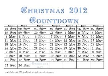 FREE Christmas Countdown 2012
