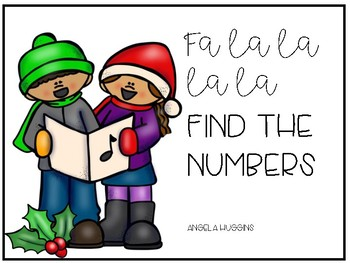 FREE Christmas Fine Motor Counting Tub