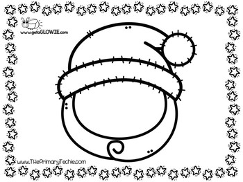 FREE Christmas Fun Printables for Glowie Mats