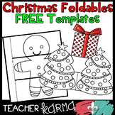 FREE Christmas & Holiday Foldables, Interactives, Flip Book Templates