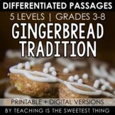 Holiday Gingerbread Tradition Passage