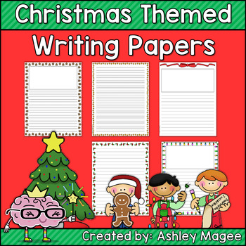 christmas themed writing paper Planning a christmas theme for preschool you can provide yellow paper at the writing table that have predrawn stars green paper, scissors, christmas theme.