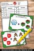 FREE Christmas Kindergarten Math Centers Addition Facts Ta