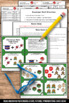 FREE Christmas Math Centers Kindergarten Addition Facts Task Cards
