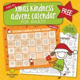 FREE Christmas Kindness Advent Calendar - Printable for Ad