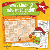 FREE Christmas Kindness Advent Calendar - Printable for Adults - US Letter