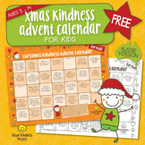 FREE Christmas Kindness Advent Calendar - Printable for Children - A4 Format