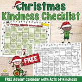 FREE Christmas Kindness Advent Calendar - Printable for Ch