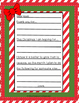 FREE Christmas Letter Templates | Dear Santa or Dear God