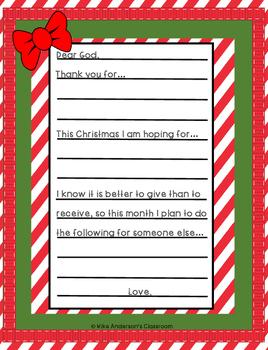 Free christmas letter templates dear santa or dear god tpt free christmas letter templates dear santa or dear god spiritdancerdesigns Gallery