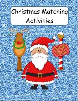 FREE Christmas Matching Activities