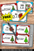 FREE Christmas Math Games & Activities Multiplication and Division Task Cards