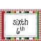 FREE Christmas Ordinal Numbers Activities