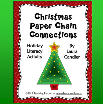FREE Christmas Paper Chain Connections