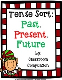 FREE Christmas Past, Present, Future Tense Sort Activity