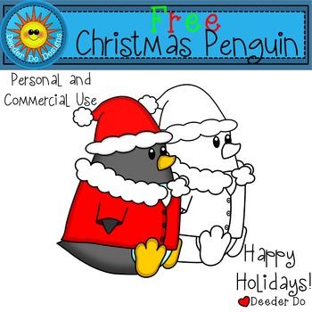 Christmas Penguin FREEBIE