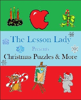 FREE Christmas Puzzles & More Pack!