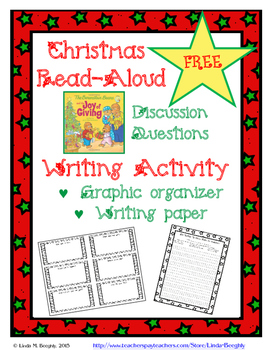 FREE - The Joy of Giving:  Christmas Read-Aloud & Writing Lesson