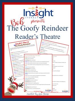 FREE Christmas Reader's Theatre! Bob the Goofy Reindeer!