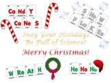 FREE! Christmas Science Poster - Celebrate the Holidays with Chemistry!