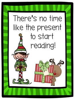 FREE Christmas Signs for Your Library/Media Center