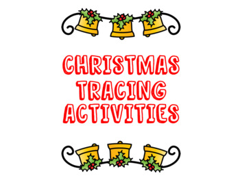 FREE Christmas Tracing Activities