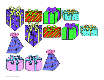 FREE Christmas Tree Craftivity: Shapes and Colors in Speech Therapy