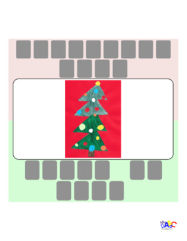 Christmas Tree    Sapin de Noël Word Unscramble