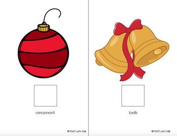 FREE Christmas Vocabulary Interactive Book