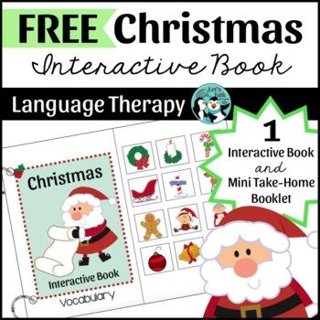 Christmas Vocabulary Interactive Book