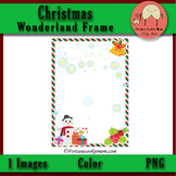 FREE Christmas Wonderland Frame