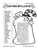 ~ ~ FREE ~ ~ CHRISTMAS WORD SEARCH