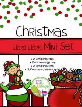 FREE Christmas Word Work {Mini Set}