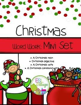 FREE Christmas Word Work {Mini Set}