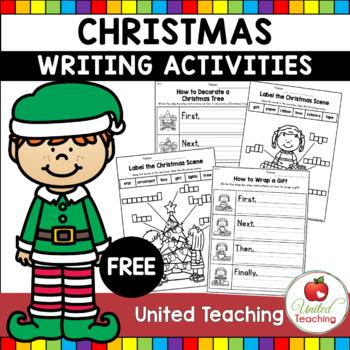 FREE Christmas Writing Activities