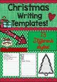 FREE - Christmas Writing Templates