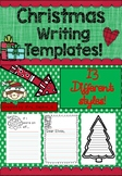 FREE - Christmas Writing Templates