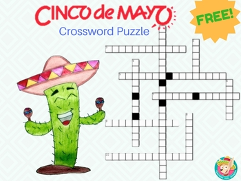 FREE Cinco de Mayo Crossword Puzzle