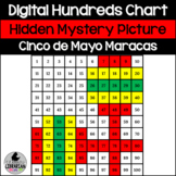 FREE Cinco de Mayo Maracas Hundreds Chart Hidden Mystery Picture PPT or Slides™