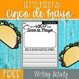 FREE Cinco de Mayo Writing Activity