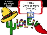FREE Cinco de mayo/Mexico Clipart