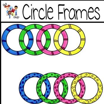 FREE! Circle Frames