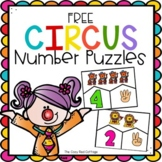 FREE Circus Number Puzzles