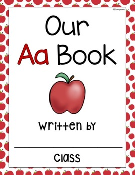 FREE *** Class Books and Emergent Readers   Alphabet Practice A-Z