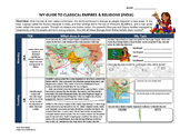 FREE Classical India & Religions World History Homework/ W