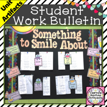 Classroom Bulletin Board - Showcase Student Work