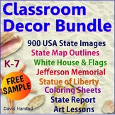 FREE Classroom Decor - White House